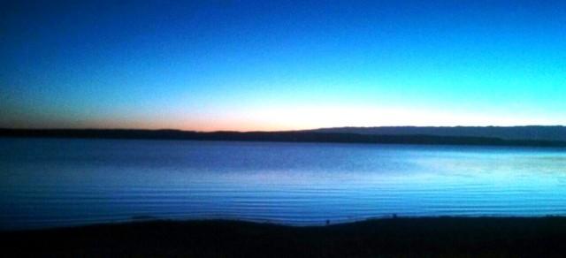 One of his sunrise photos.  I won't show you mine.