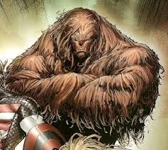 Yes, my guy is one hairy dude.