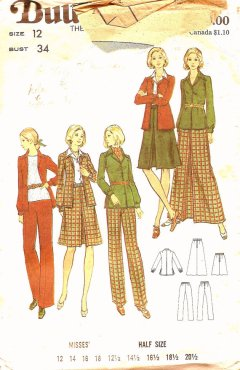 Pattern - jacket and skirt